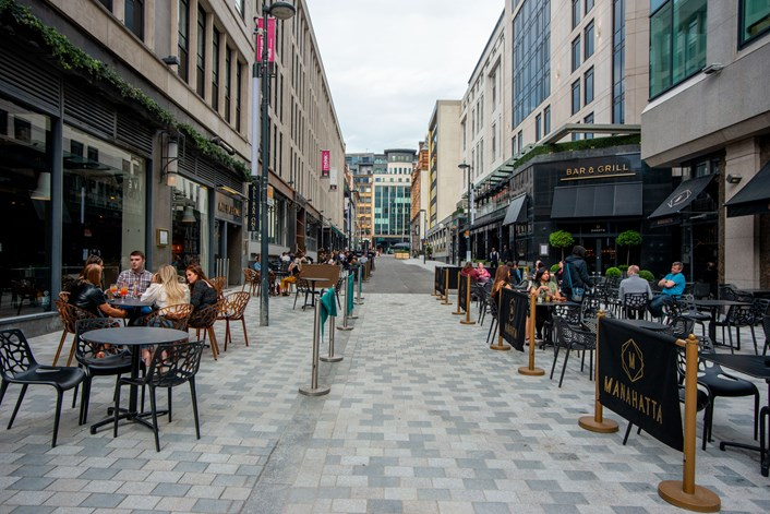 Transformation of Greek Street in Leeds complete: After