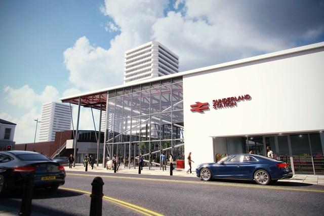 Planned upgrade at Sunderland Station