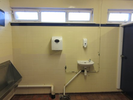 Sellafield Toilets before