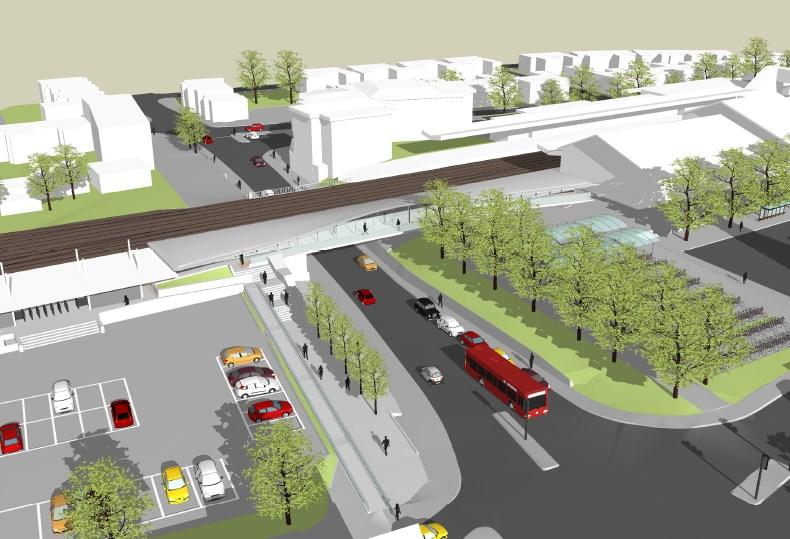 UNVEILED: MAJOR IMPROVEMENT PLANS FOR OXFORD: New platform and footbridge at Oxford station