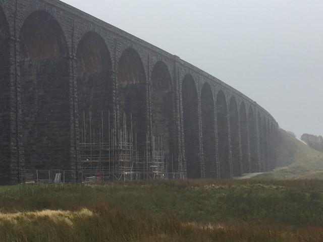 Network Rail is restoring Ribblehead viaduct