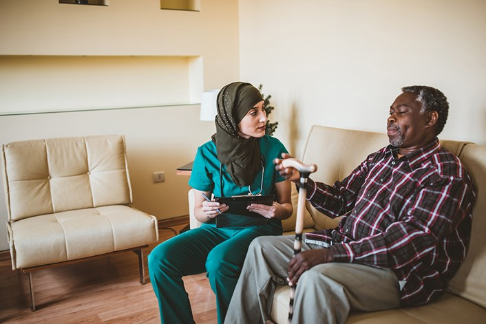 How to support Muslim colleagues during Ramadan: Care worker (image)