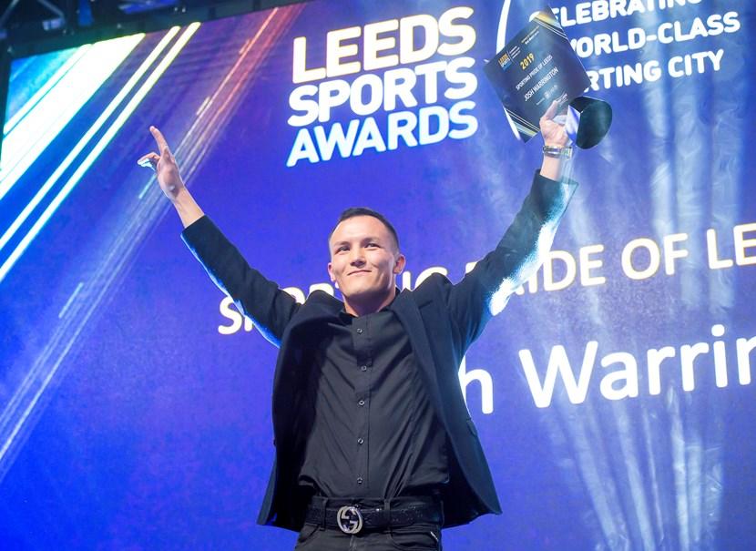 Leeds sporting stars celebrated at awards night: joshwarrington-102441.jpg