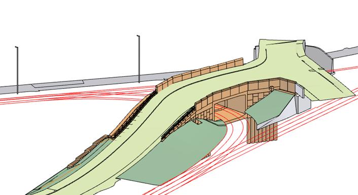 Ffordd Bleddyn tunnel-2
