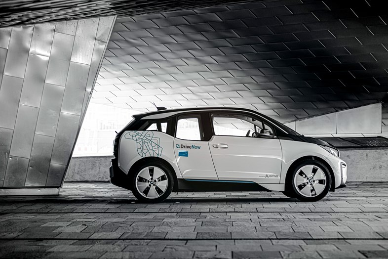 Arriva Denmark's shared car scheme, DriveNow, reaches 100k customers: DriveNow Denmark