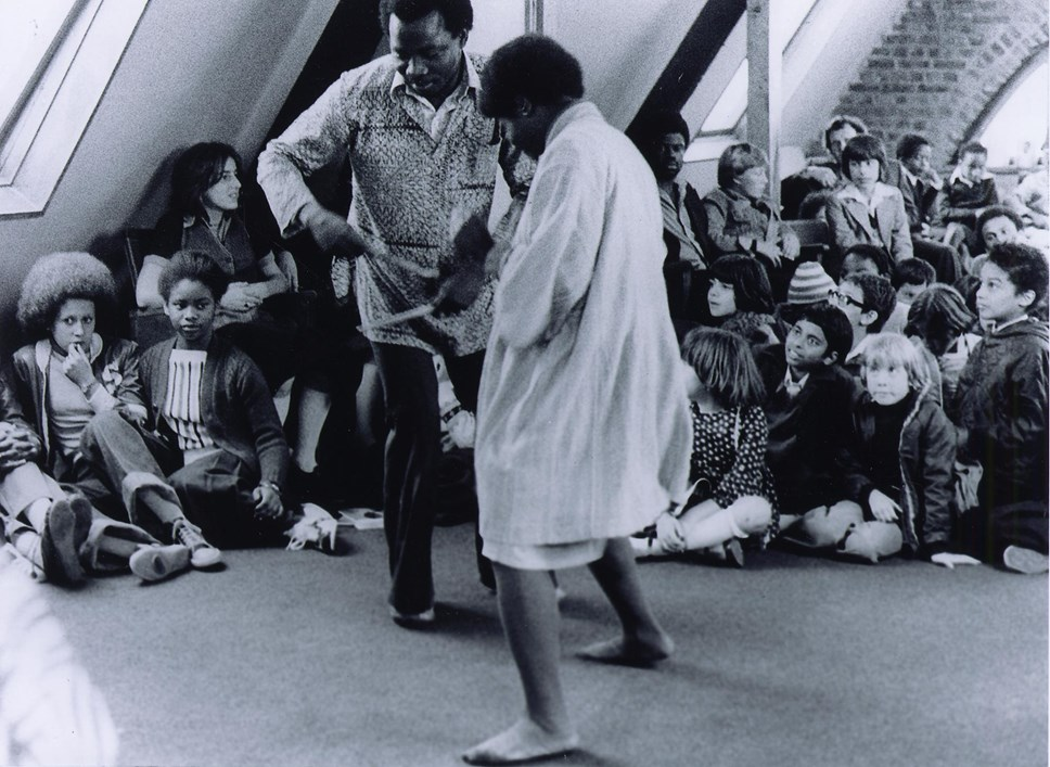 Black History for all ages: Islington celebrates Black History Month 2019: The Keskidee Centre in Gifford Street. Image Credit: Islington Local History Centre.