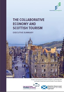 The Collaborative Economy and Scottish Tourism Report (picture)