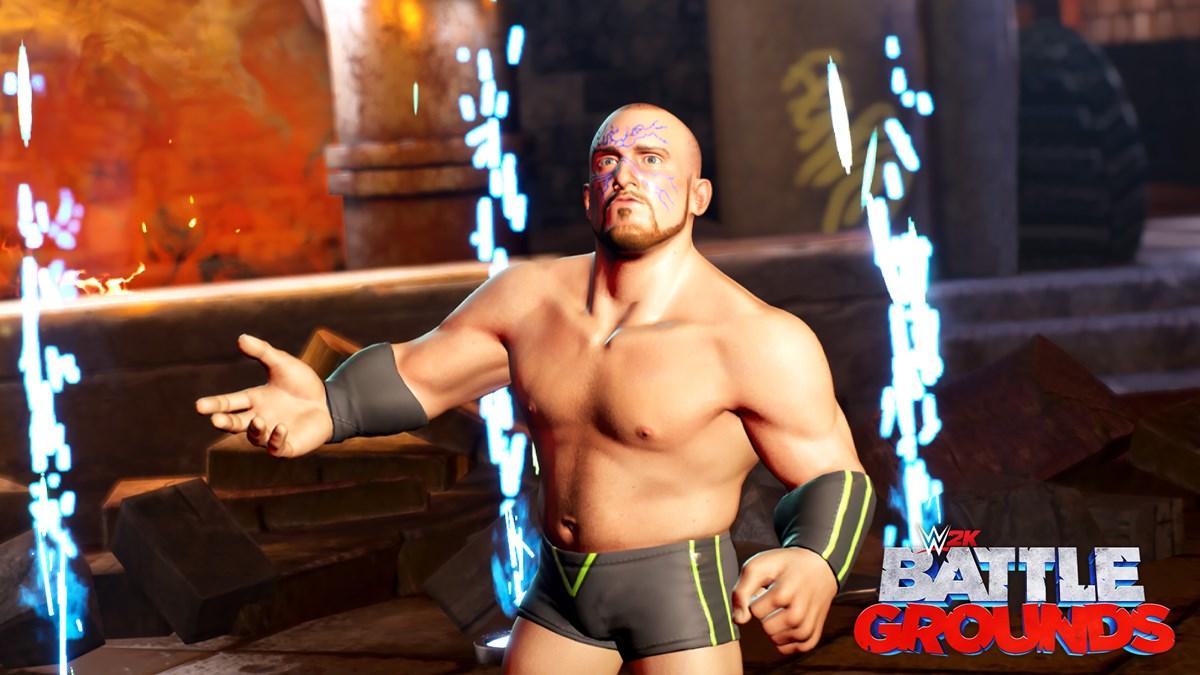 WWE2K BG Mojo Rawley