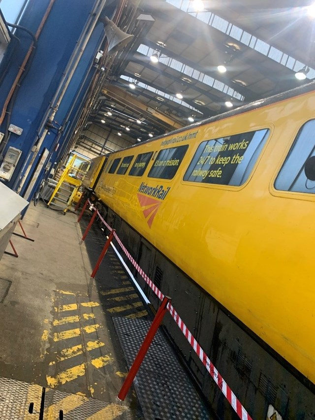 NMT coaches overhaul in Derby 2019: New Measurement Train