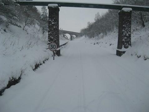 Snow on the Settle - Carlisle line_2
