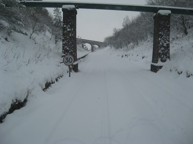 Snow on the Settle - Carlisle line_2