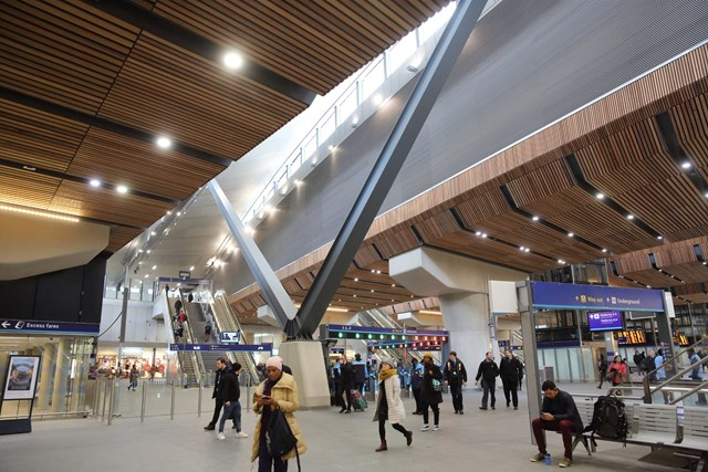 London Bridge station scoops top architecture award: london-bridge-concourse-vierendeel-truss