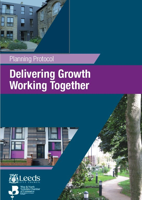 New planning protocol launched at Leeds Chamber Property Forum: planningcharterfrontcover-441228.jpg