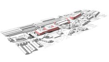 Exeter St Davids: As well as providing a new mixed-use development for Exeter, the proposed commercial redevelopment scheme will also deliver additional car parking capacity, enhance the transport interchange at the station and create a new public realm at the gateway to the city.