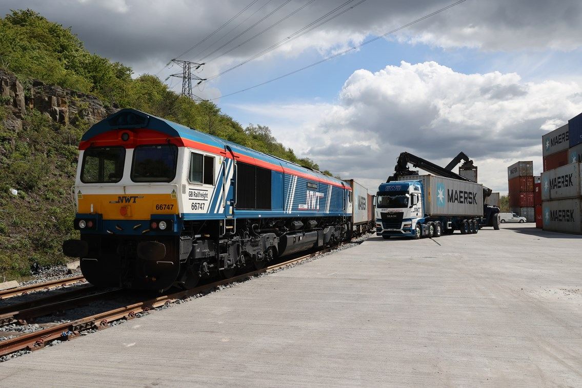 Rail freight surges past pre-Covid levels as economy begins bounce back: A new cargo terminal under development at Tinsley, near Sheffield