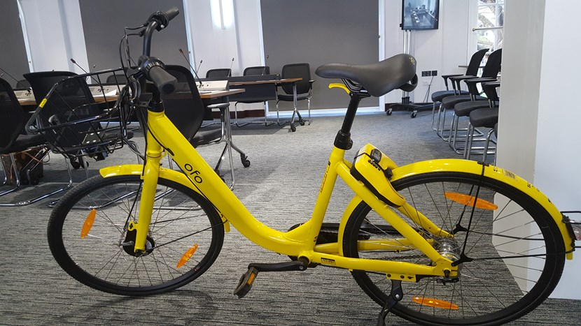 New city public bike sharing scheme given green light by executive board: ofobike.jpg