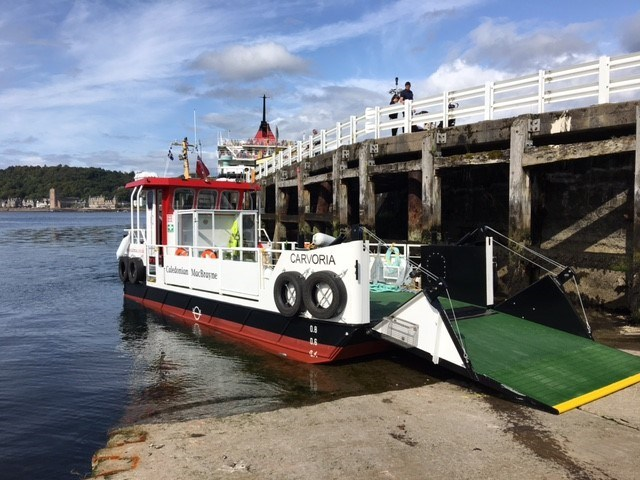 Kerrera boat