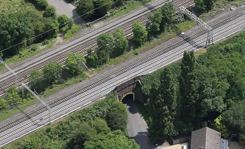 Repairs to Brindley Road railway bridges in Rugby begin this weekend: Brindley Road railway bridges Rugby