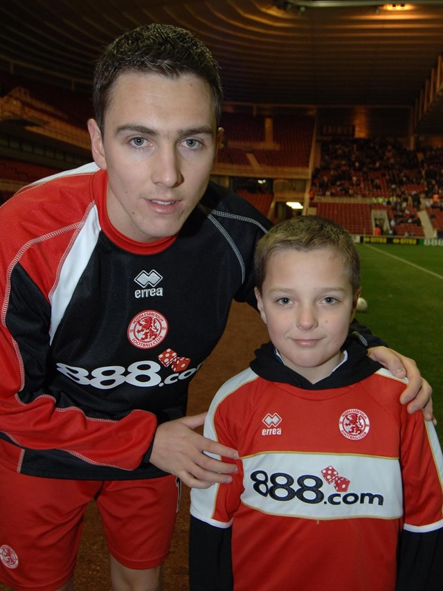 No Messin'! at Middlesbrough FC: Kieran Nugent meets Stewart Downing