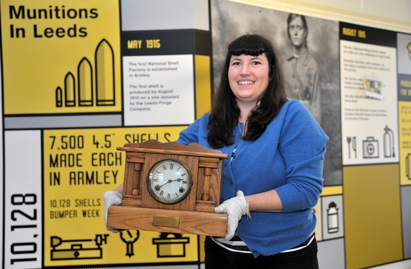 Hit exhibition enters its final two weeks on display : clock.jpg