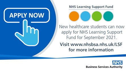 NHS LSF - Tweets-Now open: Applications are now open for the NHS Learning Support Fund