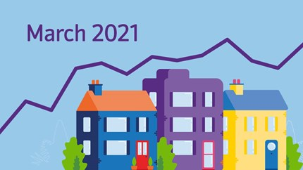 UK annual house price growth slows in March as North West sees strongest growth in first quarter of 2021: HPI-2021-Mar