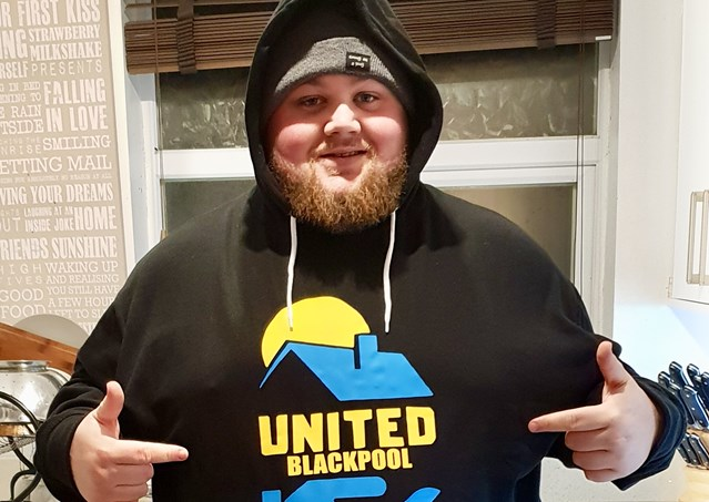 Big-hearted Network Rail signaller on a mission to help Britain's homeless: Chris Conway founder of United Blackpool