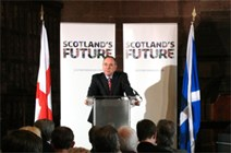 FM announces study into north-to-south HSR link: First Minister - St George's Day speech - Carlisle