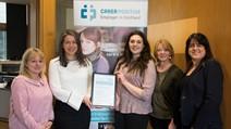 Carer Positive award presentation