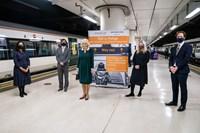 Her Royal Highness, TheDuchess of Cornwall,meetspioneers oflifesavingtraintravel scheme: Rail-to-Refuge The-Duchess-of-Cornwall 011