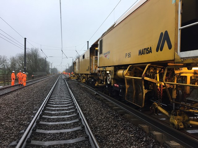 Network Rail completes vital project to improve Grantham's railway