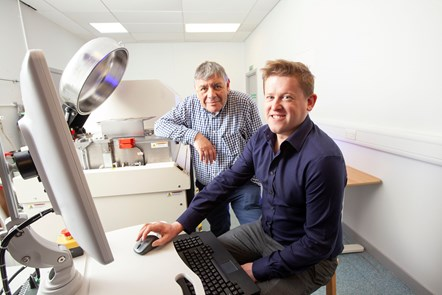 Scottish Sensor Technology Business Receives £1m Grant to Aid Expansion: Novosound - (LtoR) Richard Cooper (founder and CEO) with Dave Hughes (founder and CTO) 2 (1)