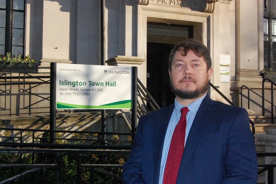 Islington Council calls for Universal Credit to be scrapped: Cllr Andy Hull, executive member for finance, performance and community safety