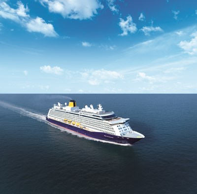 Saga Cruises' ship 'Spirit of Discovery' in countdown to launch its first round Britain cruise: Saga Cruises - Spirit of Discovery external image (square)