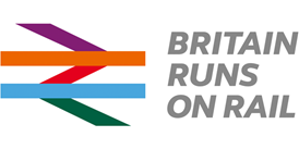 Arriva backs national 'Britain Runs On Rail' campaign: Britain Runs On Rail logo