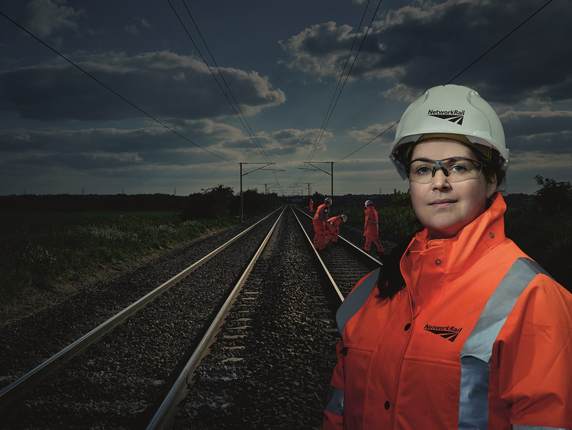 Network Rail listed in Times Top 50 Employers for Women: Times Top 50 employer