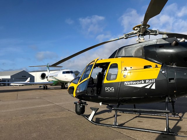 Network Rail helicopter-5