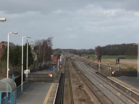 track layout - Church Fenton