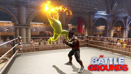 WWE2K BG Gronkster VS R-Truth 2