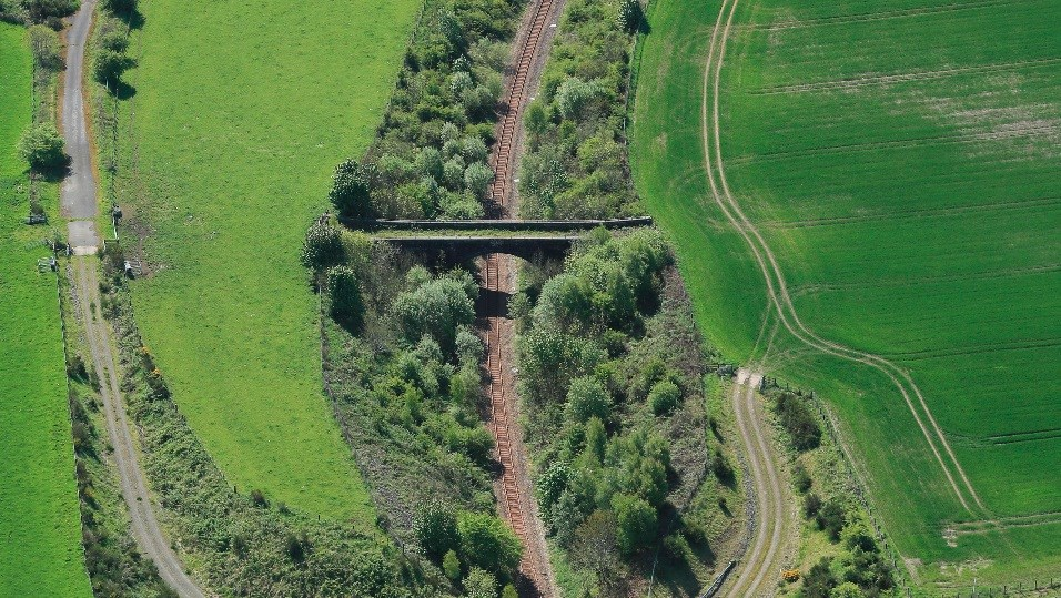Rail works to inform project development for Fife and Clackmannanshire: Aerial 1-4