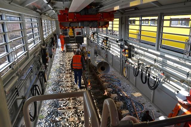 Mobile Maintenance Train (MMT) - internal 2