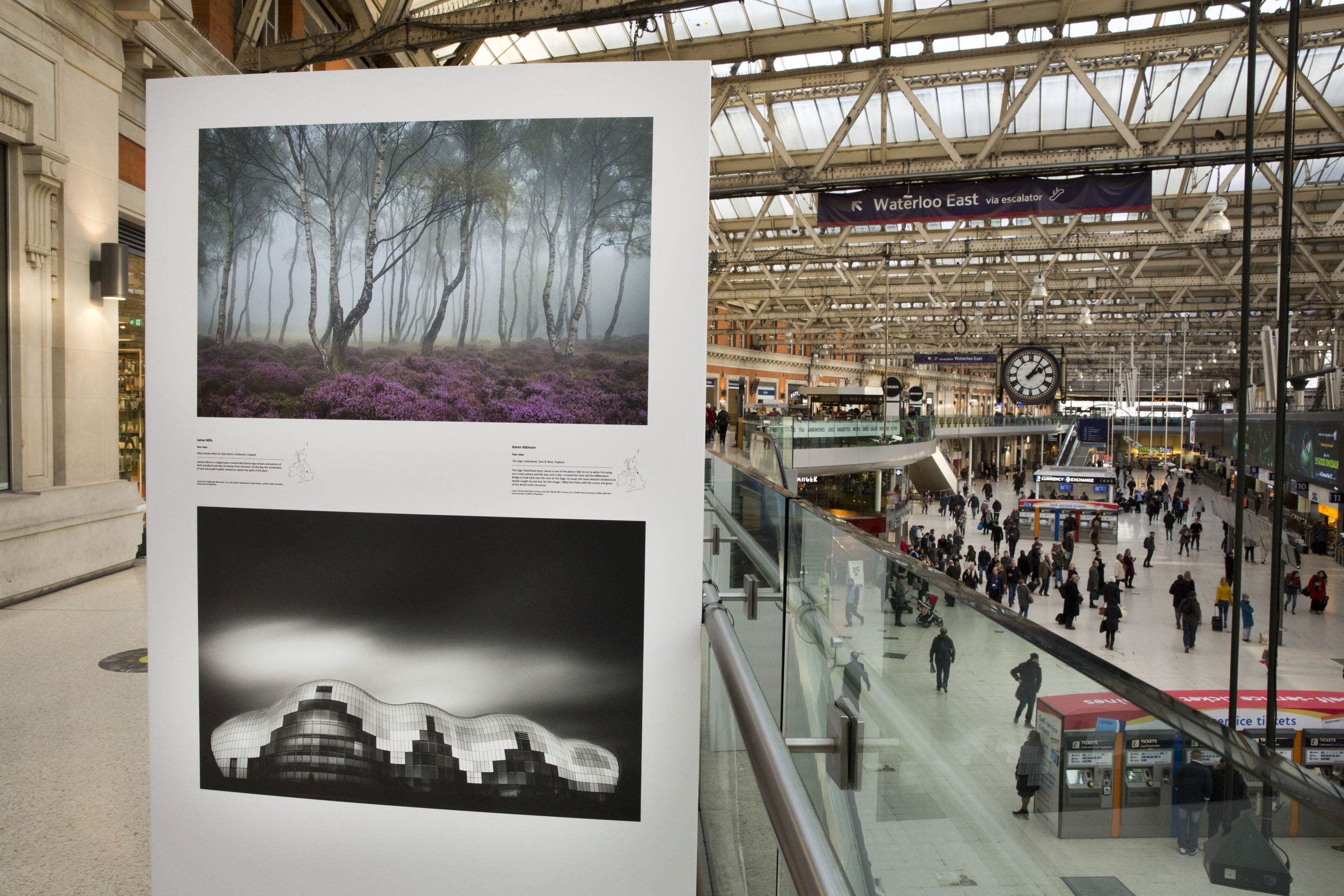 Explore Britain S Most Breath Taking Landscapes At London Waterloo