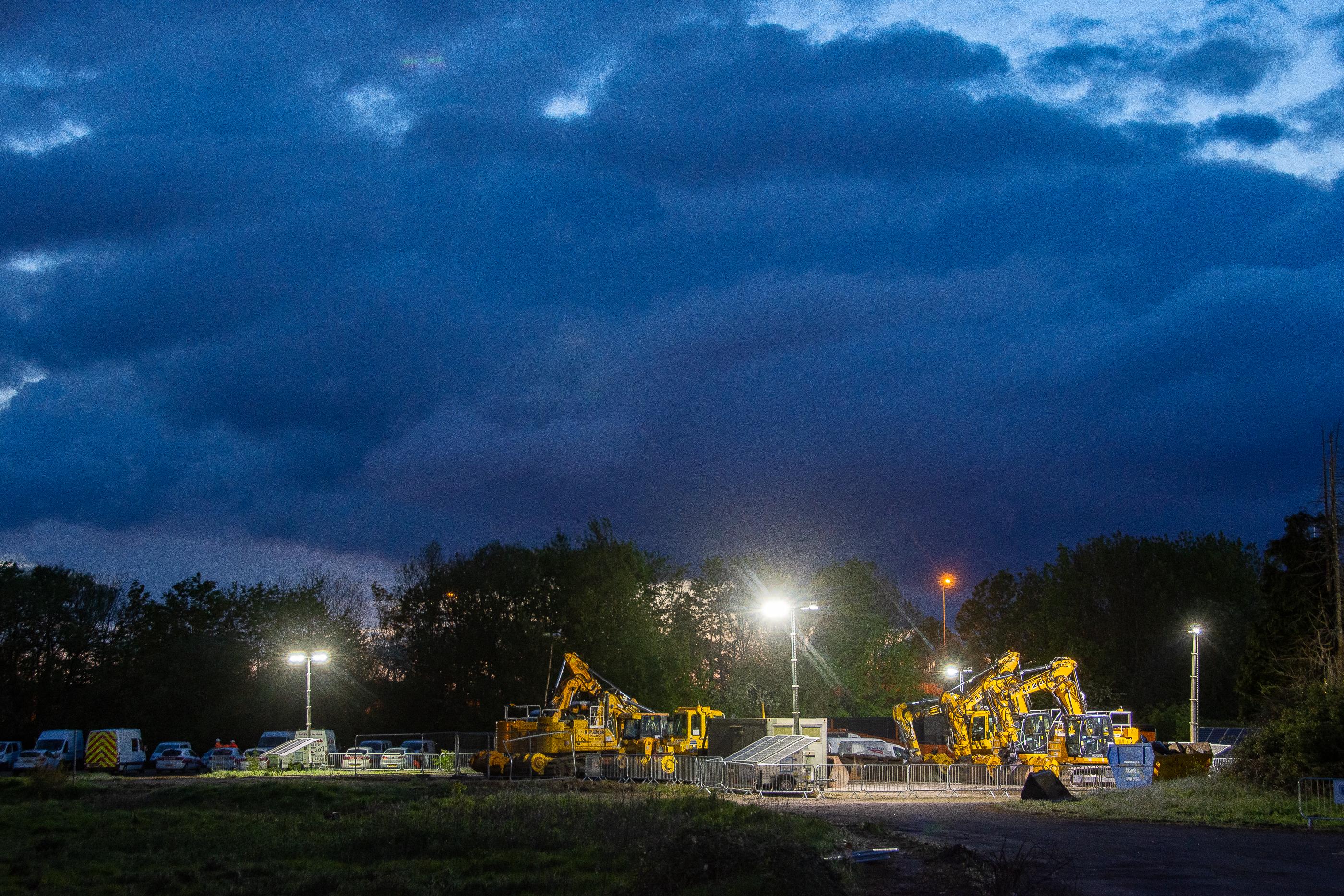 "Network Rail and Colas Rail Ltd achieve a 97% diesel-free ""Site of"