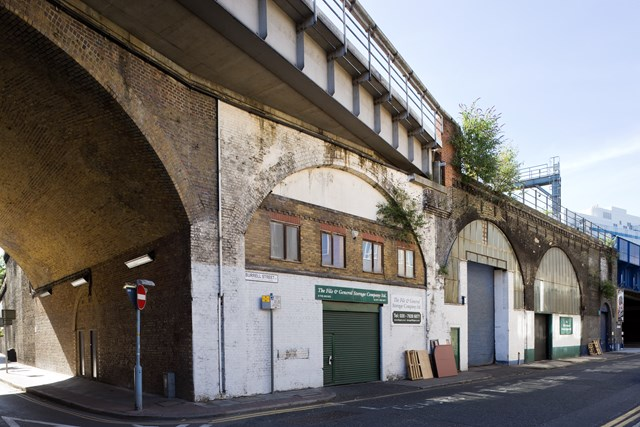 Arches Revamp - Burrell St SE1 Before