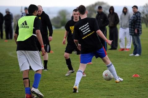 DCITC/Network Rail No Messin' football tournament