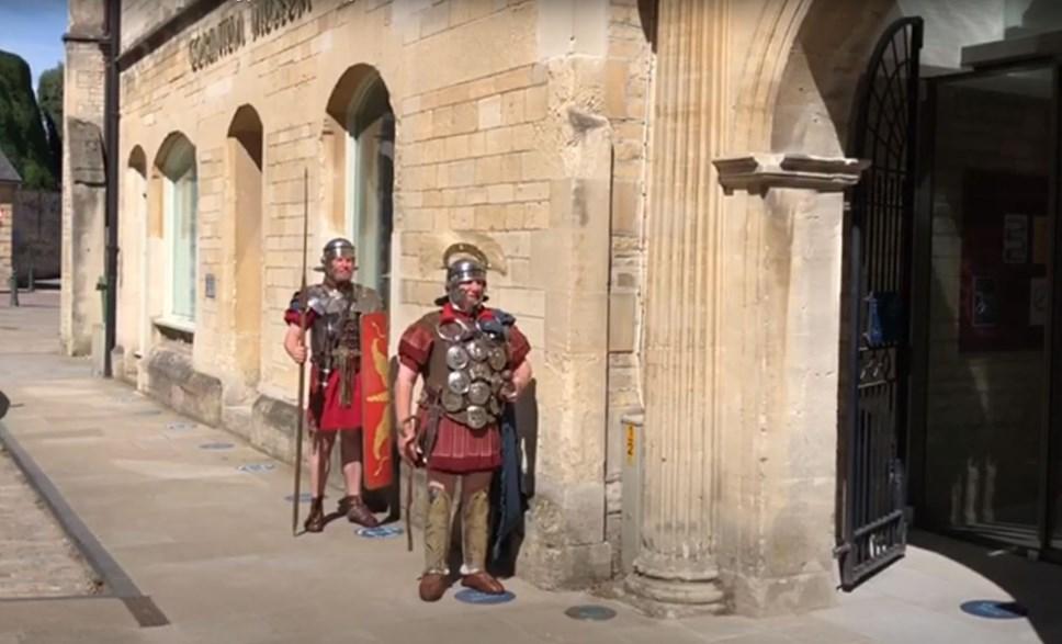 Corinium Musuem - Roman soldiers