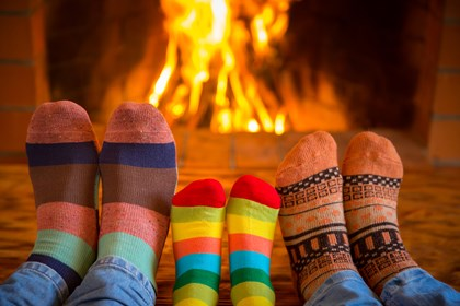 Siemens Elf & Safety Advice: where there's smoke, there isn't always fire!: bigstock-Family-Near-Fireplace-204672886 original (2)
