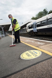 Station cleaning 4