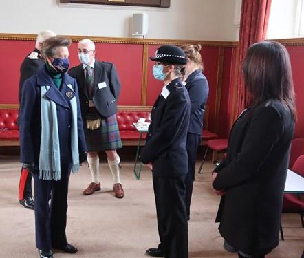 Her Royal Highness Tolbooth Visit - 13 October 2021-2