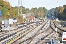 Network Rail has completed nine days of upgrade works at Fareham in which nine sets of points were replaced [2]